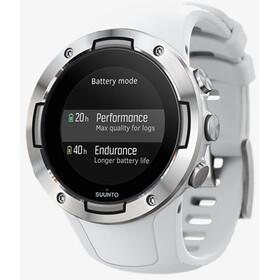 Suunto 5 GPS Sport Uhr weiß